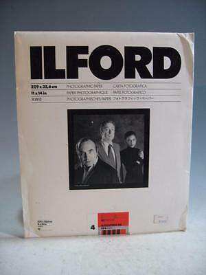 Ilford 11 X 14 Ilfospeed RC Deluxe IS4 B&W Paper Pearl Finish - 8 Sheets-Opened