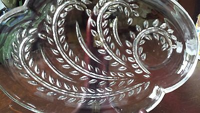 vintage homestead snack lucheon plate/trays set of four