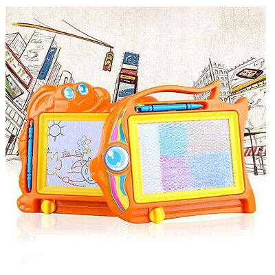 Magnetic Drawing Board Sketch Pad Doodle Writing Craft Art for Children Kids FF