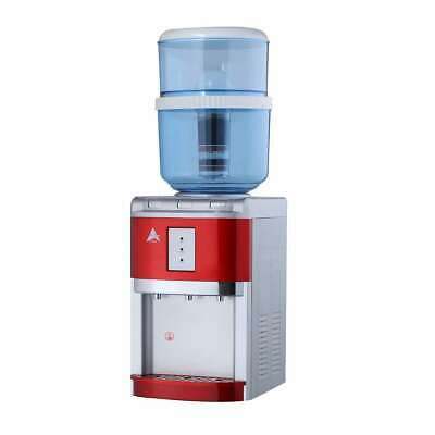 Benchtop Water Cooler chiller purifier hot cold Ambient Awesome Aimex Red