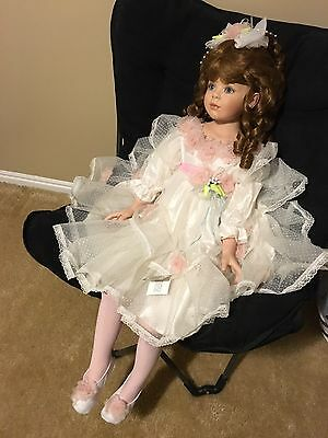 "Donna Rubert RARE Kimberly 44"" Porcelain Doll"