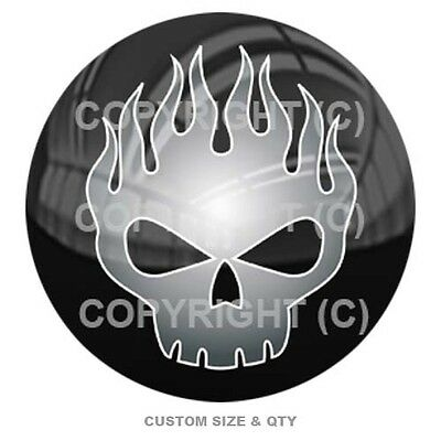 Premium Glossy Round 3D Epoxy Domed Decal Indoor /& Outdoor Spade Lucky 13 S130