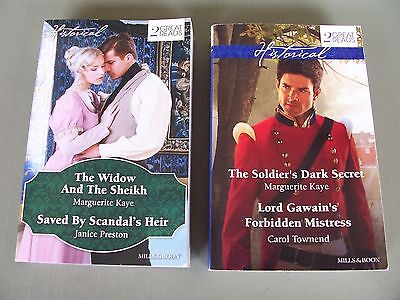Mills And Boon Books...historical  2-In-1 Novels, New/as New!