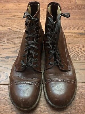 "Vintage 50's/ 60's 465 Red Wing 6"" Dress Cap Boots - 7.5"