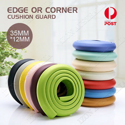 6M Edge and Corner Safety Guard Cushion Protector Baby Proofing Furniture Set