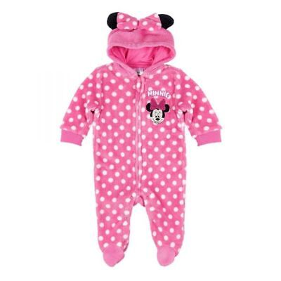 Disney Minnie Jumpsuit, Anzug, rosa, Gr. 62-92