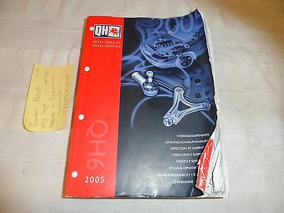 Quinton Hazell Steering And Suspension 2005 Very Large Catalogue