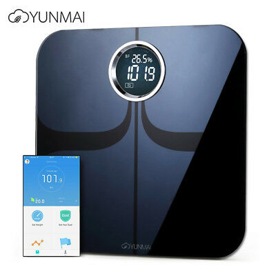 Yunmai M1301 Listed Premium Bluetooth Smart Body Fat Scale & Body Composition