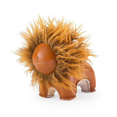 NEW Zuny paperweight lion tan by Until