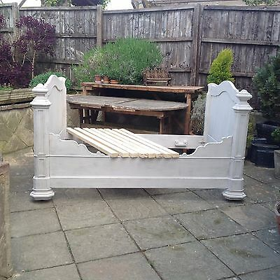 Antique French Day/Wall Bed, late 1800's, Courier Available