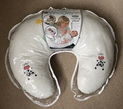 Widgey Nursing Pillow - Cow In Vgc