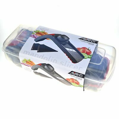 NEW AVANTI FOLDING MANDOLIN SLICER Mandoline Cutter Shredder Chopper Slice
