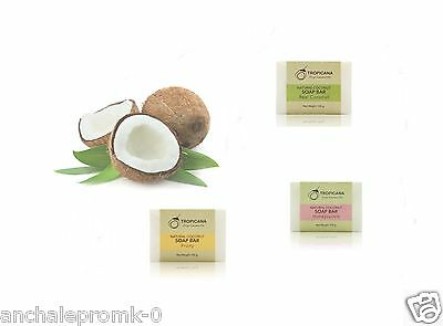 100g. Tropicana Natural Coconut Oil Soap Honey Fragrance/fruity.