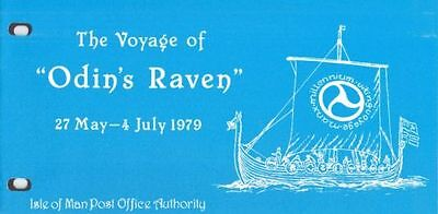 ISLE OF MAN Presentation Pack 1979 THE VOYAGE OF ODIN'S RAVEN