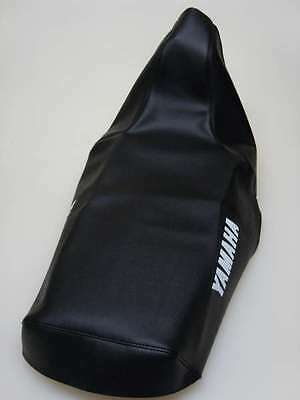 Motorcycle seat cover - Yamaha XT600E 3TB 1990-94 in Black