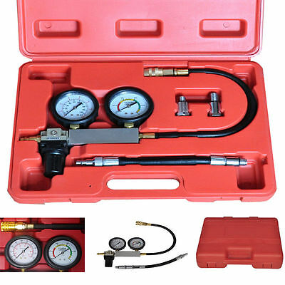 Cylinder TU-21  Leak Detector Tester Compression Leakage Kit Set  Petrol Engine