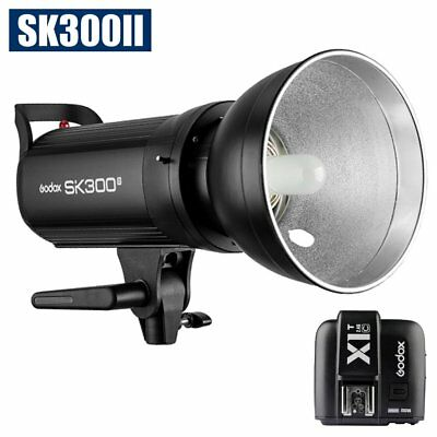 Godox SK300II 300W 2.4G Flash Strobe Light + X1T-C Transmitter for Canon 220V