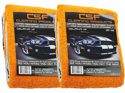 2x CSF Orange Babies Drying Towel Microfaser Handtuch CSF Delirium DC-02