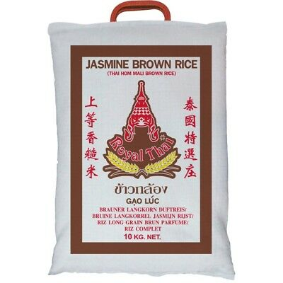 (3,20€/1kg) [ 10kg ] ROYAL THAI Naturreis AAA Thai Brown Rice (brauner Reis) KV