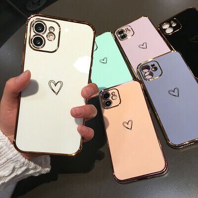 Floral Pattern Rubber Soft TPU Silicone Case Cover For iPhone XS Max 8 6s 7 Plus