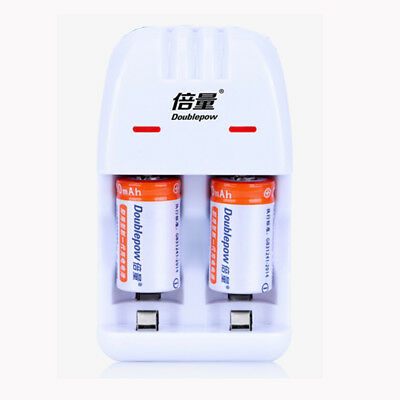 Charger Adapter +2x 3V CR2 3V Lithium Li-ion Rechargeable 900mAh Battery Local