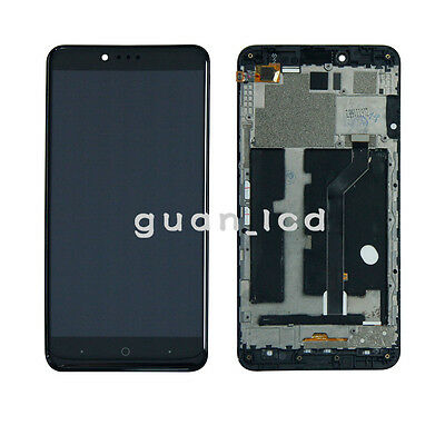 FIX LCD Display Screen Touch Digitizer Assembly Replace ZTE ZMAX PRO Z981+ Frame