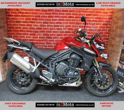 Triumph Tiger Explorer 1215 Fitted With Extras