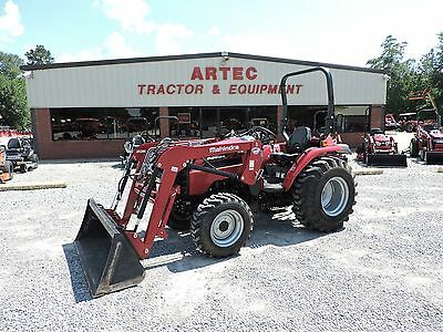 2016 Mahindra 2538 Tractor With Loader - Hst Transmission - Good Condition!!