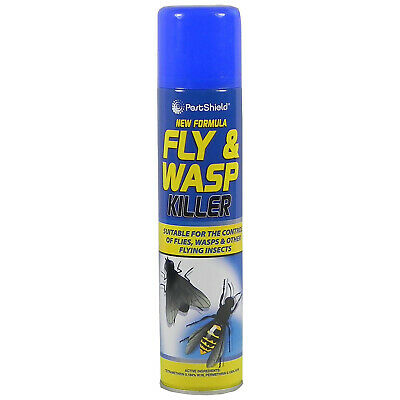 300ml Quick Action Indoor Home House Fly Wasp Insect Mosquito Killer Spray
