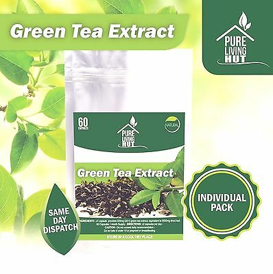 Green Tea Extract 500mg Detox Weight Loss Diet Slimming Pills - 1 Month Supply