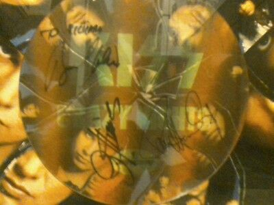 KISS crazy,crazy nights 3D Flasher rare signed framed .promo poster