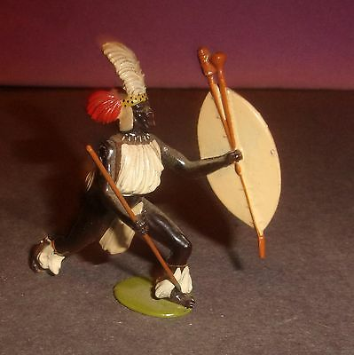 Unusual Vintage Zulu Chief with Moveable Arm