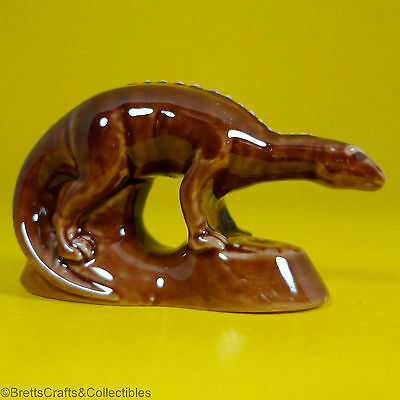 Wade Whimsies (1993/2008) Dinosaurs Series (2008/Set #3) - Brown Maiasaura