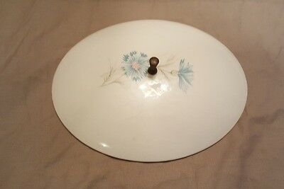 Vintage Casserole Dish LID ONLY- Taylor, Smith & Taylor Ever Yours Boutonniere