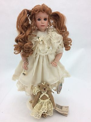 "Cottage Collectibles ""Dawn"" Pocelian Doll by Ganz (Doll # 0326 of 3600)"