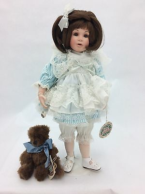 """Cottage Collectibles """"Lisa"""" Pocelian Doll by Ganz (Doll # 1107 of 3600)"""