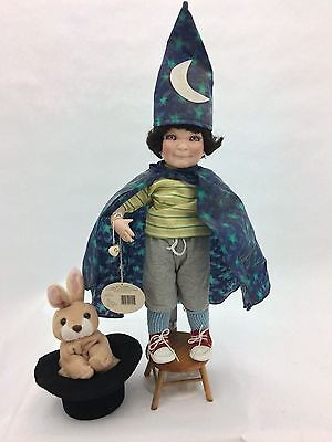"Cottage Collectibles ""Magic Boy"" Porcelain Doll by Ganz (Doll # 0794 of 3600)"