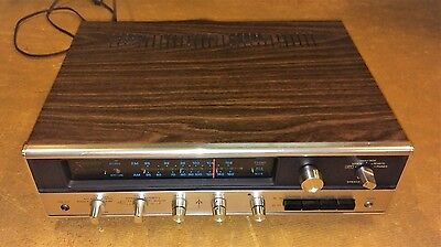 Lafayette LR-1000B Solid State Receiver FOR PARTS OR REPAIR.