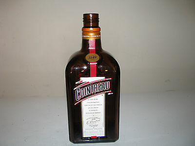 COINTREAU EMPTY & CLEANED LIQUOR BOTTLE 750 ml
