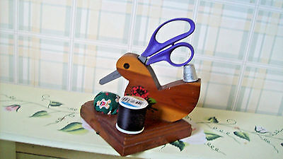 Vintage Pin Cushion & Sewing Accessories