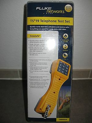 Fluke Networks TS 19 TELEPHONE TEST SET 19800HD9 NEW Old Stock