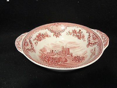 "7"" Lugged Cereal Bowl Johnson Bros Old Britain Castles Vintage"