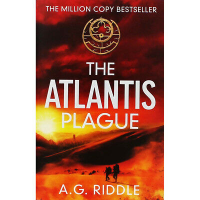 The Atlantis Plague by A.G. Riddle (Paperback), Fiction Books, Brand New