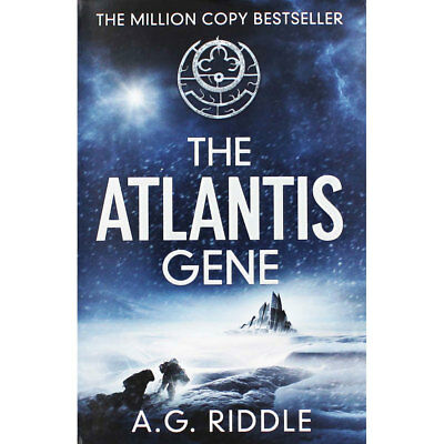 The Atlantis Gene by A.G. Riddle (Paperback), Fiction Books, Brand New