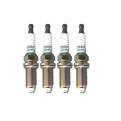 4PCS OEM 90919-01233 Iridium Spark Plugs Denso 3417 SK16HR11 Fit For Toyota New