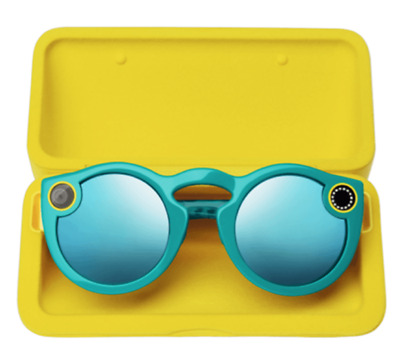 New Snapchat Glasses Spectacles IOS Android Bluetooth Black + Full Kits UK Stock