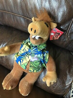 "Alf Alien Plush Toy Nanco 2002 Stuffed Animal 13"" Wildflower"