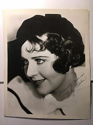 "Ruby Keeler Original Vintage Autographed 8"" by 10"" Photo, 1930s"