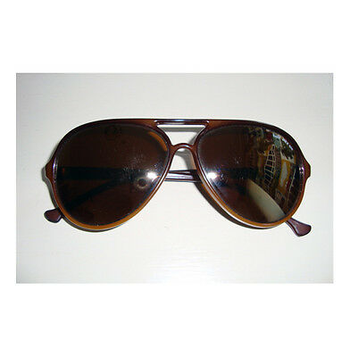 7dcfb7706a VINTAGE BOLLE IREX 100 Brown Gold Mirror Men s Aviator Sunglasses ...