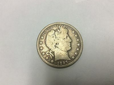 1897-S  BARBER HALF DOLLAR Combined Shipping